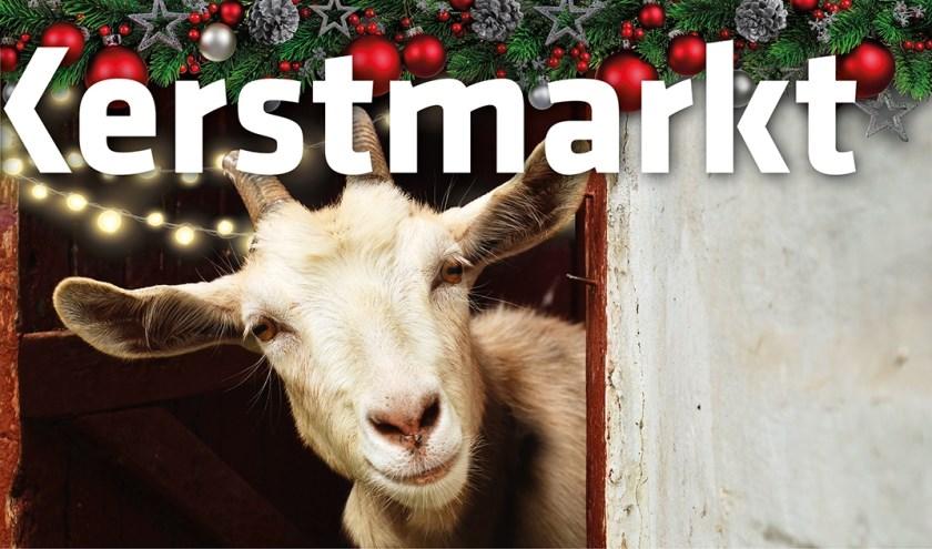 Kom gezellig naar de kerstmarkt op de Stadsboerderij