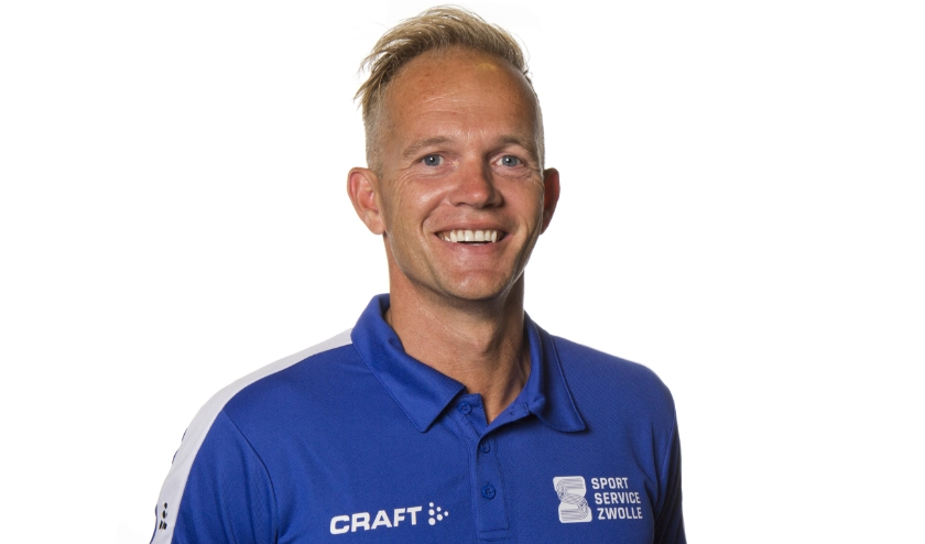 Roger Knoops, Manager SportService Zwolle.