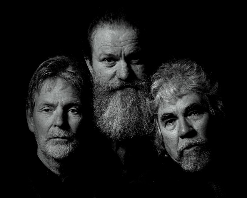 Hans van Gorp, Toon Maas & Piet Snijders. Foto: Kees Martens.