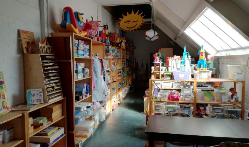 Veel speelgoed en spelletjes te leen bij Speelotheek De Speelakker