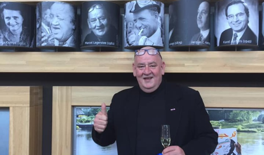 Marcel Legerstee, Arnhemse held van 2018, bij zijn heldenrol in Rozet