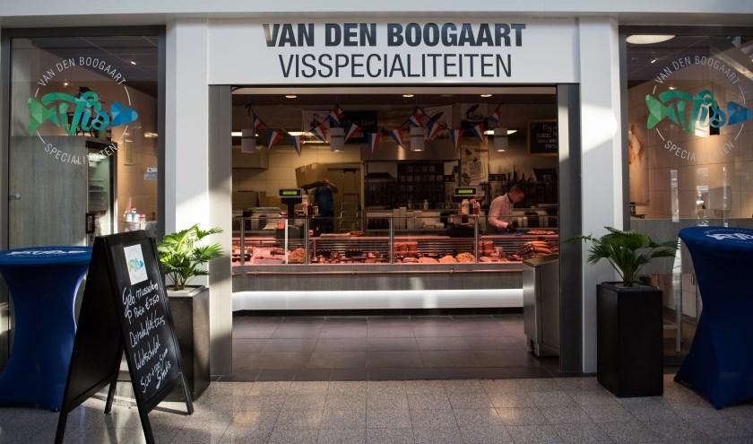 Van den Boogaart Visspecialiteiten viert het mooie resultaat op zaterdag 2 november. (Foto: Eunice van Gent)
