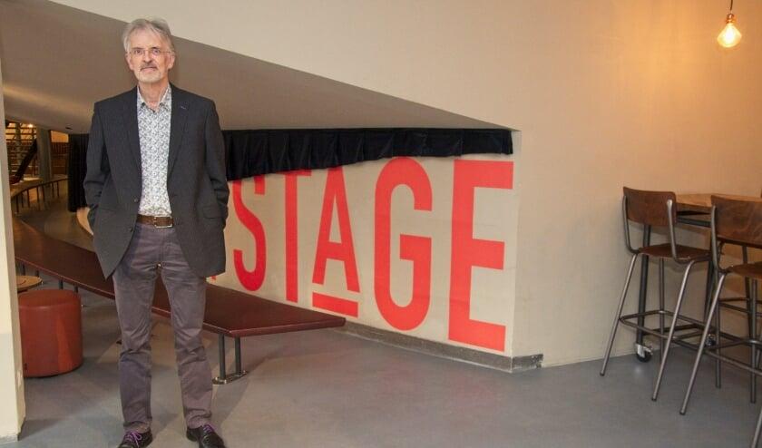 Michel Havenith treedt samen met het Ebony Ensemble op in het Stadstheater. Foto: Archief/Gerard van Warmerdam