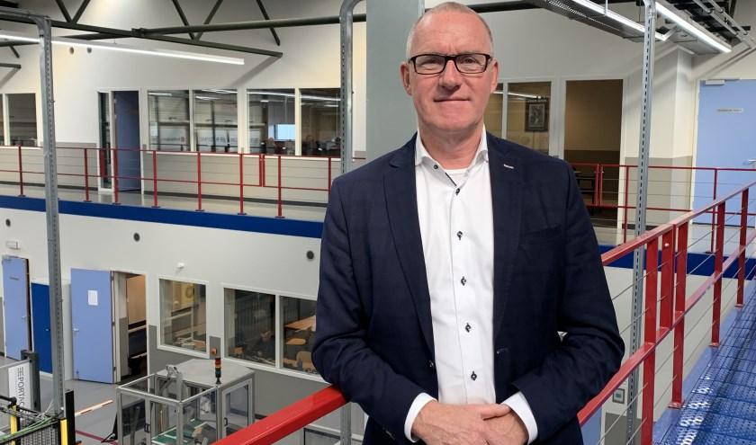 """Directeur Gerrit Schalk:  Er is een toekomstbestendig REMO, maar dan moet je wel met de tijd mee en aanbieden wat het bedrijfsleven morgen nodig heeft."""" Foto: REMO"""