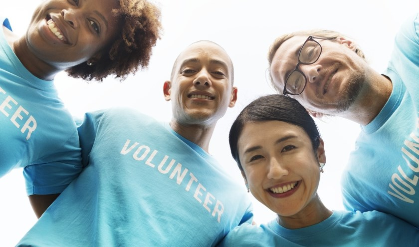 Vrijwilligers.