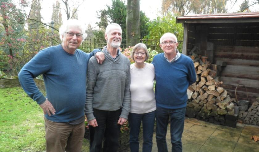 De jury v.l.n.r. Ernst van Erkelens, Rob van Vliet, Ineke van der Sman en Piet Nicolaas. Foto Kees van Rongen
