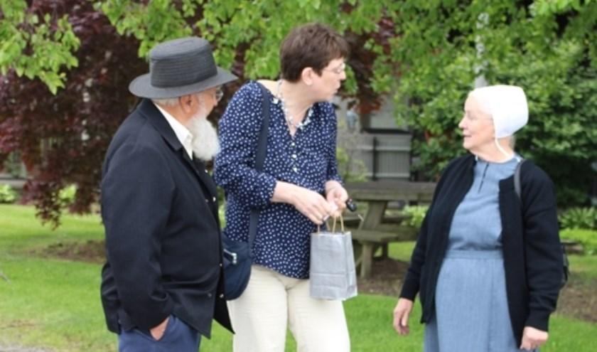 Quilt-lerares Laura Strating vertelt over de levenswijze van de Amish.