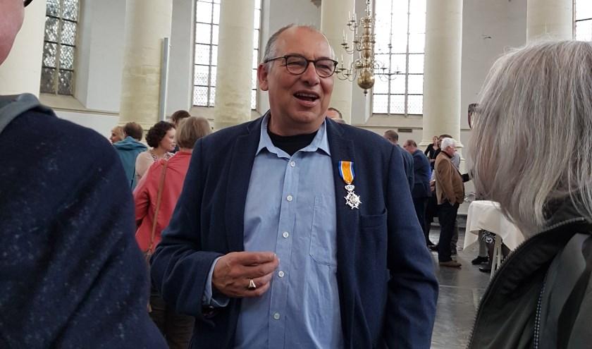 Inititatiefnemer Rijnlandse Geschiedenis Cor Smit.