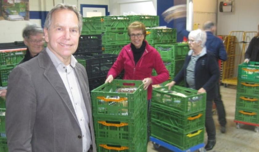 Peter Vogelaar van de voedselbank Delft