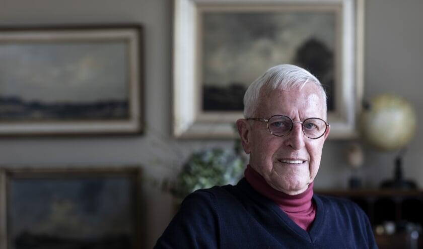 <p>Oosterbeker Gijs van der Lee herinnert zich nog veel uit de septemberdagen van 1944. Zijn ouders hadden een kruidenierswinkel aan de Kerkstraat in Renkum. (Foto uit boek: Ruben Timman)</p>