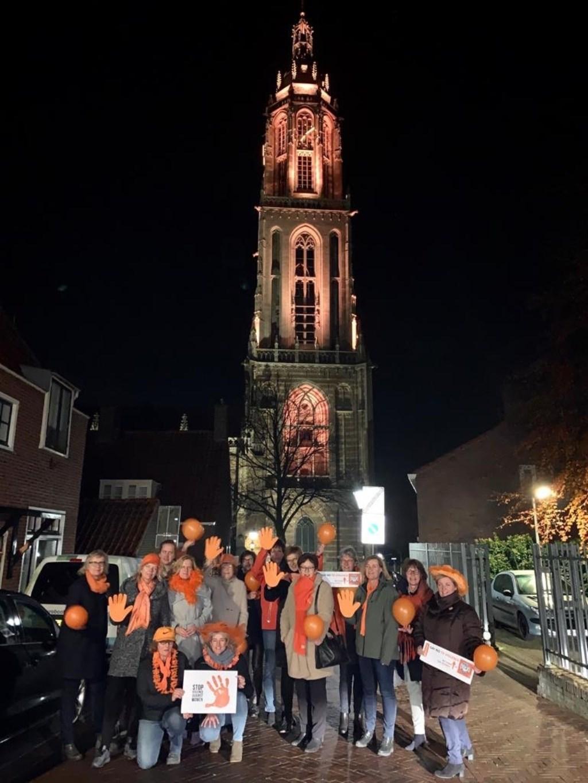 Leden van Soroptimistclub Rhenen-Veenendaal bij de Cuneratoren Foto: Nynke van Staveren  © DPG Media