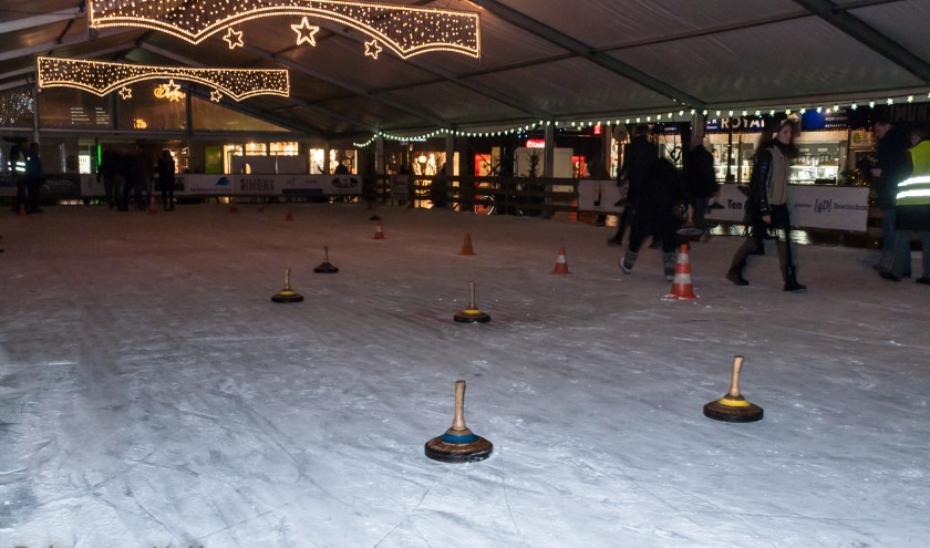Curling in Doetinchem. (foto: Maurice Hollmann)