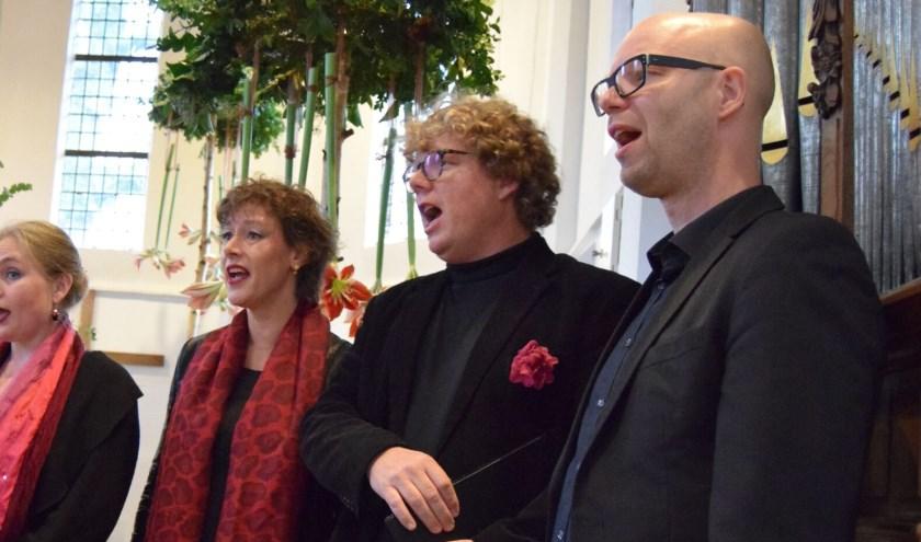 Het Huygens Consort geeft donderdag 12 decembereen kerstconcert in de Grote Kerk van Epe.