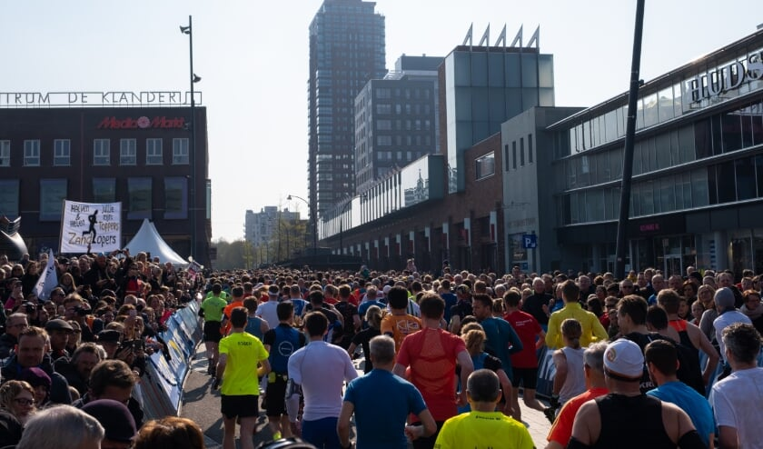 <p>Eerdere editie van de Enschede Marathon.</p>