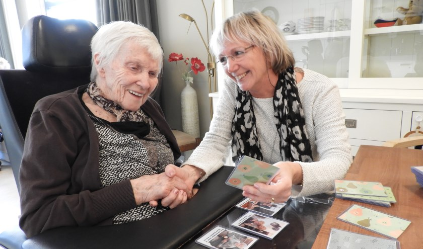 Ongebruikt Geheugenkaartjes helpen ouderen herinneren | Zenderstreeknieuws OM-72