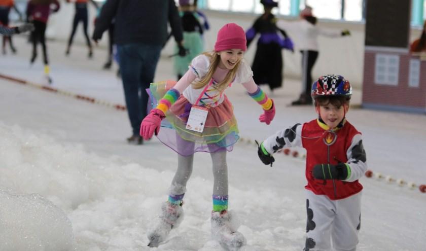 Verkleed schaatsen voor een prijs...