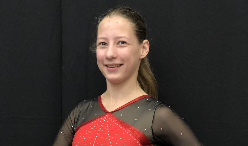 Indy Scheppink kan trots terugkijken op haar prestatie bij de junioren in de tweede divisie. (Foto: Jolien Altena)