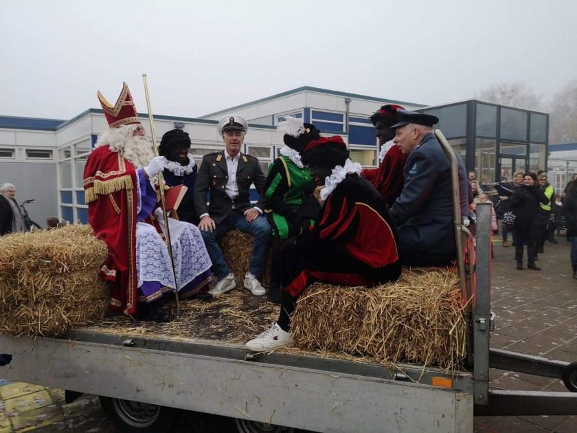 Sinterklaas op de Klimpaal in Etten.
