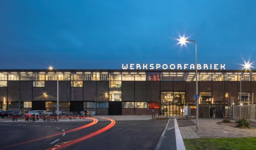 <p>De Werkspoorfabriek is genomineerd voor beste gebouw en beste kantoorgebouw van 2020. Foto: Stijn Poelstra</p>