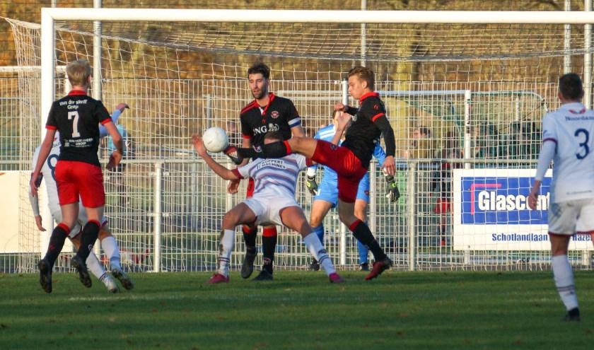 Aaron Balk zorgde er voor dat ARC een punt pakte tegen FC 's-Gravenzande.