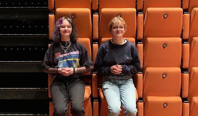 Ilse Van der Kroft regisseerde de videoclip die op het nationaal film festival voor scholieren, de hoofdprijs wist te winnen. (foto: Chard van den Berg)