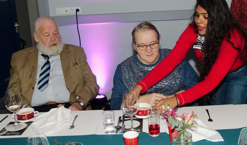 Naast de leden van JCI waren ook diverse studenten van Wittenborg paraat als vrijwilliger. (foto Gert Perdon)