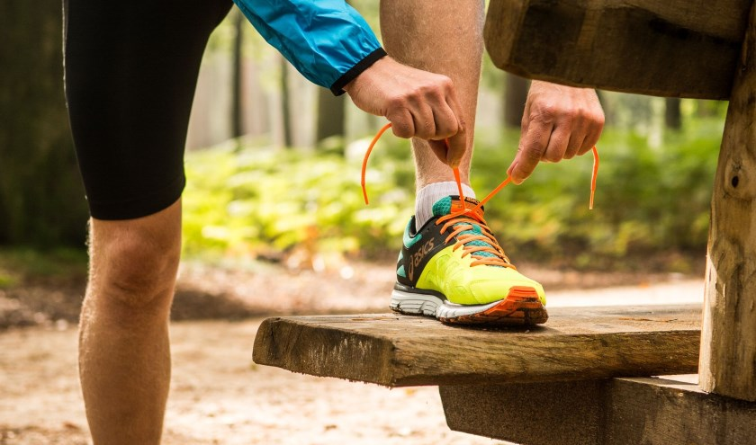 De Start to Run training start een week na de proeftraining van 9 januari. Foto: Atletiekunie.