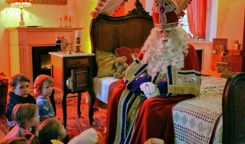 De allerkleinsten mogen dit jaar wel op bezoek bij Sinterklaas.