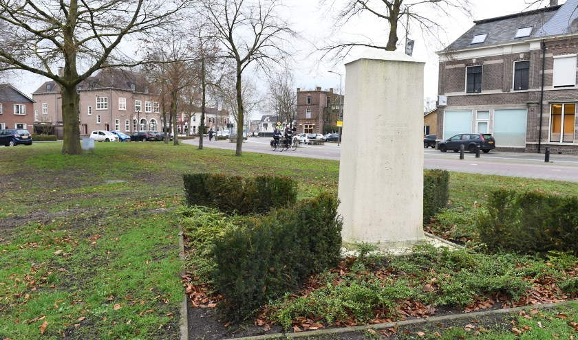 Het veldje in Terborg waar het monument het Levenslicht is gepland. (foto: Roel Kleinpenning)