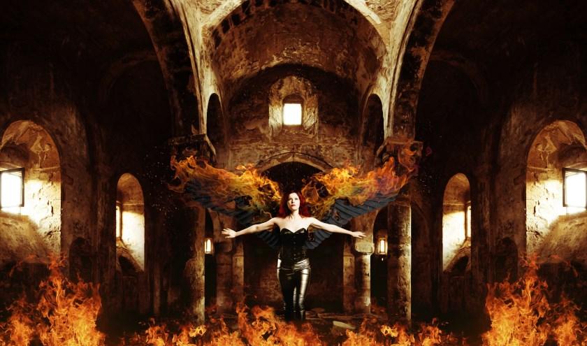 Maya Fridman als de Fiery Angel. (Foto: Adempercem)