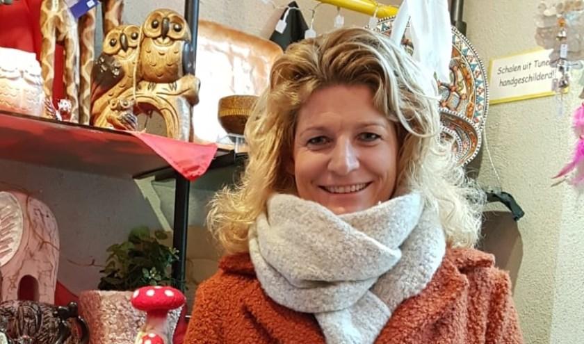 Een blije winnaar van de Sinterklaasactie.