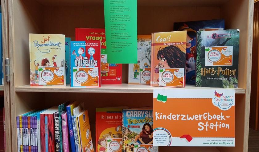 KinderzwerfboekenStation De Lichtboei