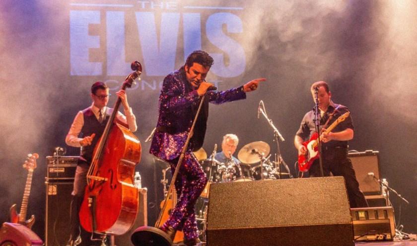 The Elvis Concert met Dwight Icenhower.