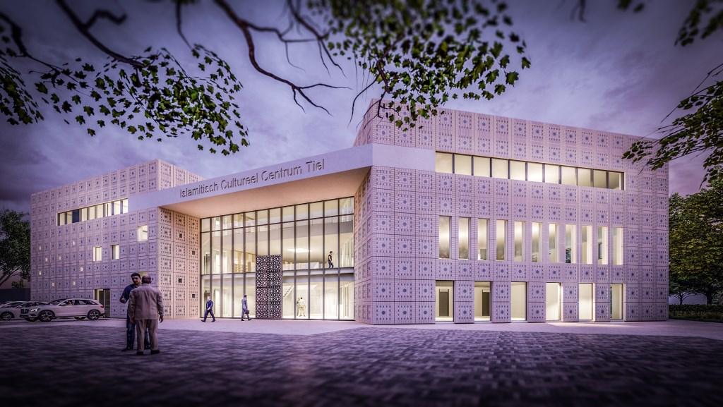 Nu al net echt, het ontwerp door Theo Verburg Architecten, met dank aan Sjoerd te Bogt, assistent-architect  © DPG Media
