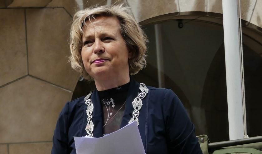 Annemiek Jetten zag geen uitweg meer in de politieke chaos in Vlaardingen en vertrok vroegtijdig. Foto: Ada Onderdelinden