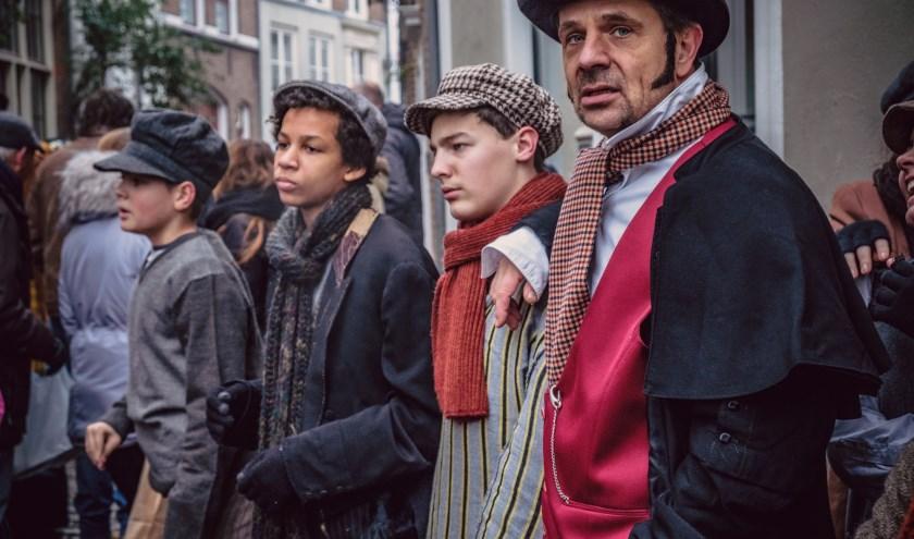 De 19e eeuwse Engelse stad van Charles Dickens herleeft in volle glorie op zaterdag 14 en zondag 15 december. (Foto: Sander Korvemaker)