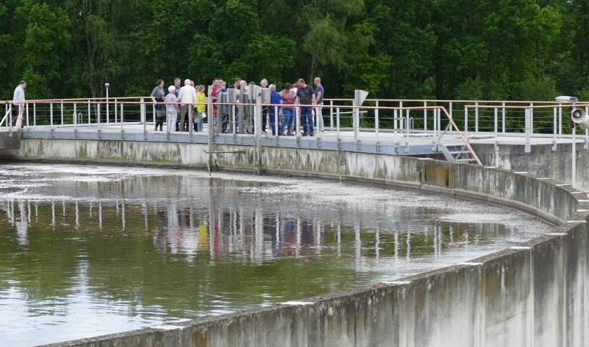 De rioolwaterzuivering in Eindhoven. Foto: Waterschap de Dommel.