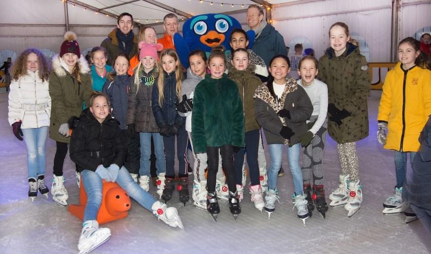 Afgelopen maandag ging het schoolschaatsen weer van start. Foto: Marijke Vermeulen