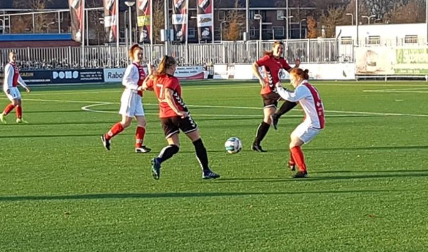 IFC Vrouwen 1 boekte zaterdag een belangrijke overwinning