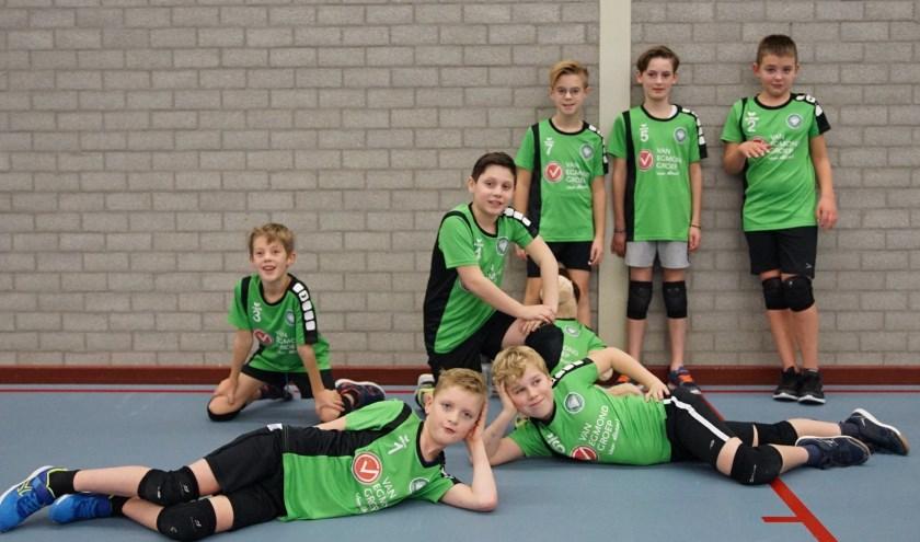 Het jongens CMV-team van Vollverijs