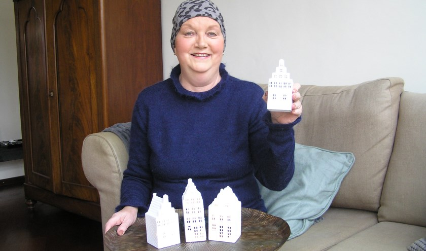 """,,Ik wil de collectie uitbreiden tot 12 of 15 huisjes. Ik hoop dat mensen ze gaan verzamelen,"""" zegt Pamela van Egmond."""