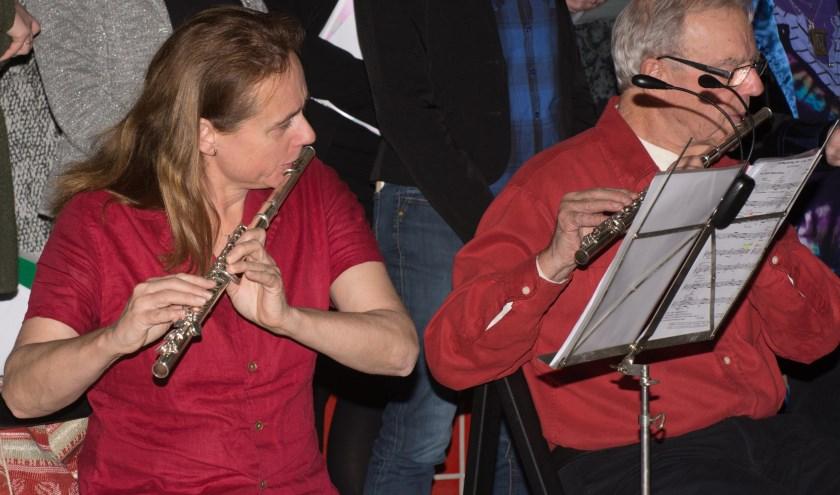 Kerstoptreden (2018) van een van de ensembles van de SKVR.