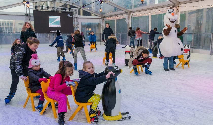 De hele maand december ijspret voor jong en oud  bij WinterWonderland Zeist.