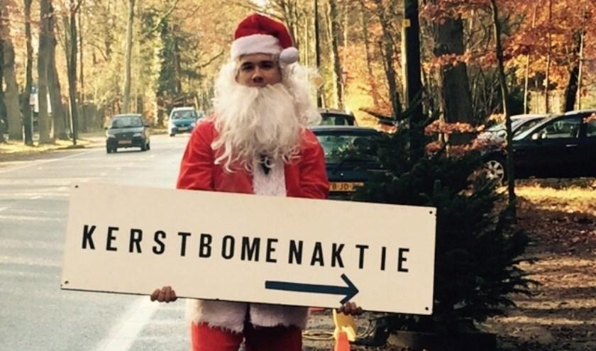 Ook de kerstman is aanwezig!