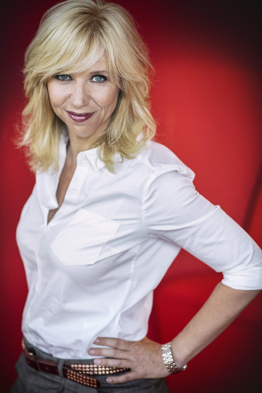 Claudia de Breij - Oudejaarsconference. Foto: Hans-Peter van Velthoven.  © DPG Media