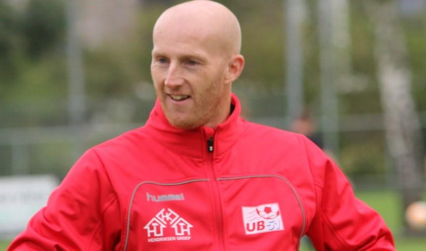 Martijn Meerdink, hoofdtrainer vv Ulftse Boys.
