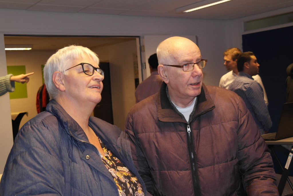 Lien de Groot en echtgenoot, betrokken via de wijkvereniging  © DPG Media