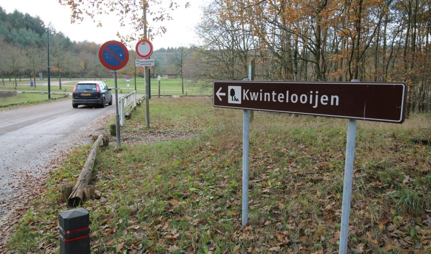 De entree van recreatiegebied Kwintelooijen in Rhenen. (Foto: Marco Diepeveen)
