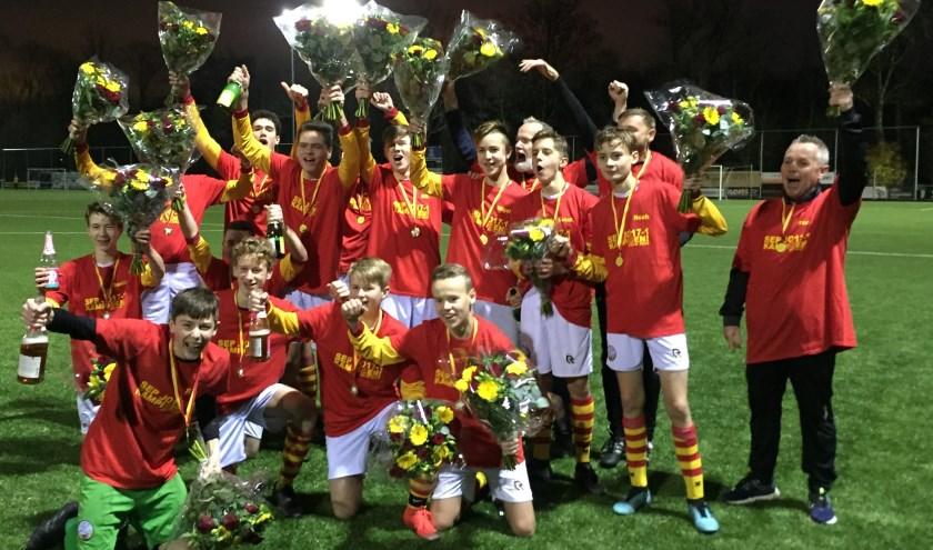 SEP JO17-1 seizoenskampioen