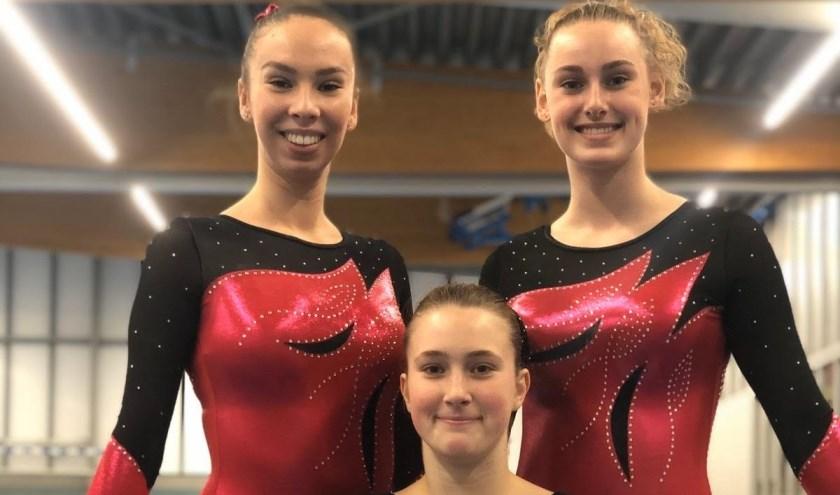 Laura, Britt en Joane